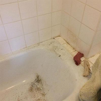 Cleaning job Tunbridge Wells bath before
