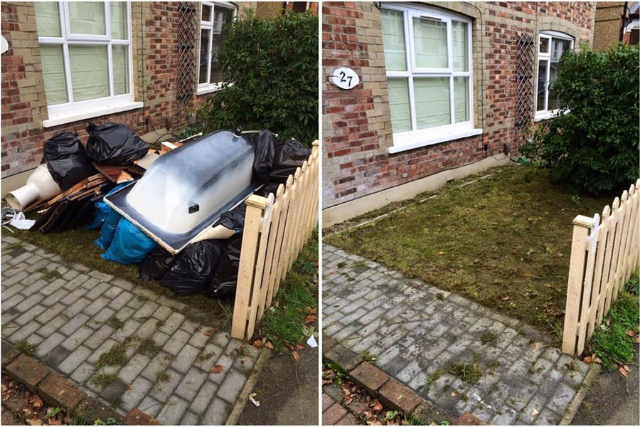 Front Garden Rubbish Clearance Kenley